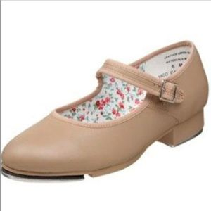 Capezio Velcro Tele-tone Tap Dance Shoes Size 13